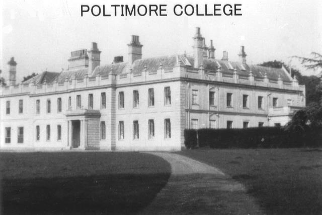 Poltimore College, Poltimore House