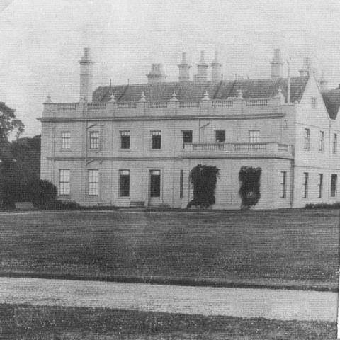Poltimore College - The east elevation from the arena