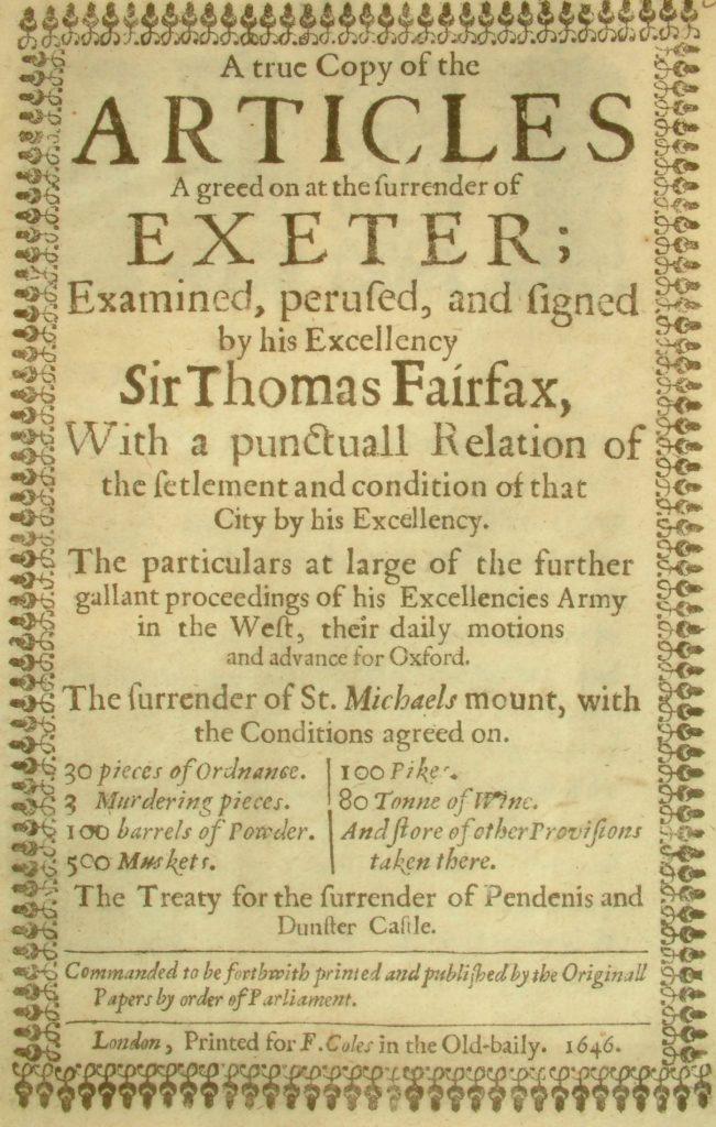 Treaty of Exeter