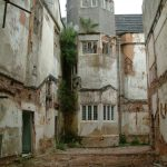 Poltimore House - Courtyard in 2004